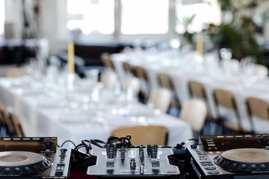 Supperclub mit DJ in unserer Eventlocation