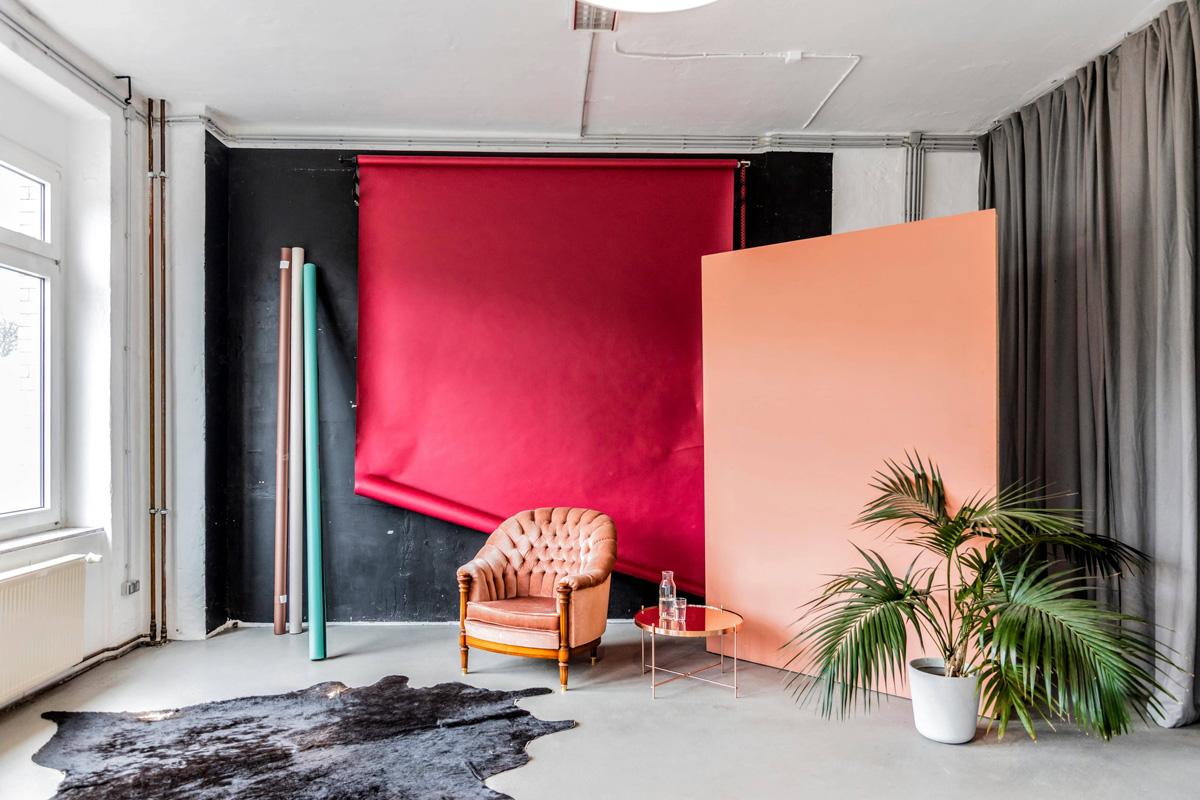310² rental Photostudio with daylight many plants an beautiful interior